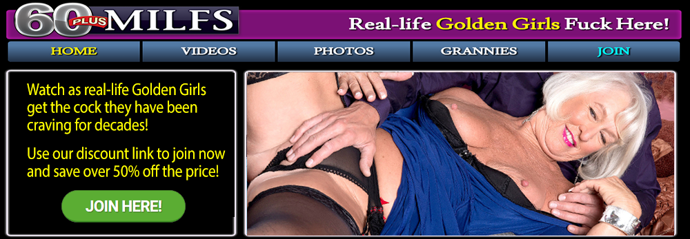 60 Plus Milfs Discount: Was $39.99, Now Just $19.99 With Free Bonus Site!